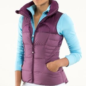 Lululemon Fluffin' Awesome Vest Plum